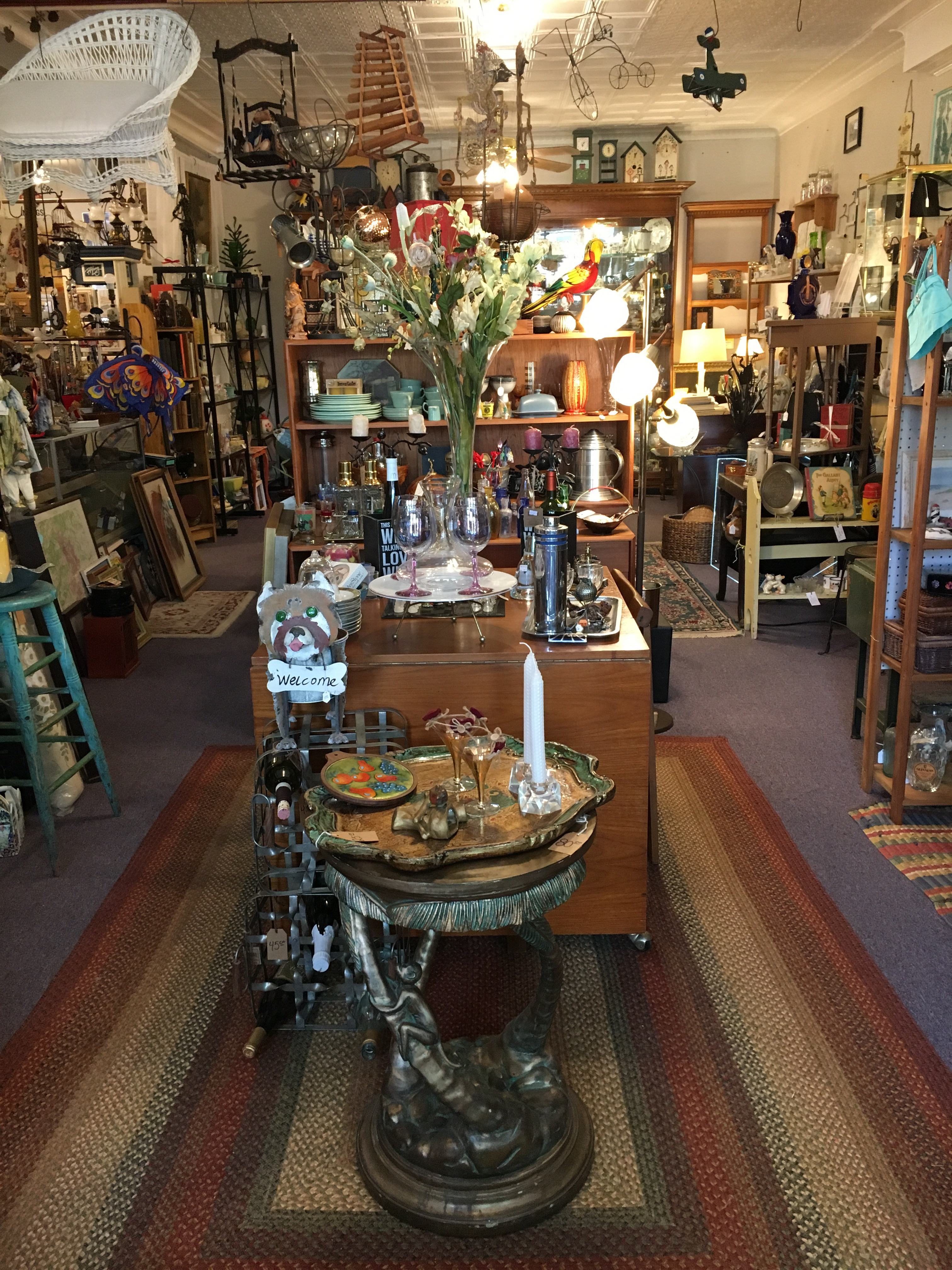 Time's Tin Cup: Antiques, Gifts & Art | Vintage, Art, Curios ...
